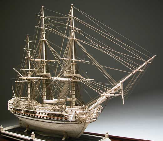 prisoners of war ship models